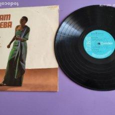 Discos de vinilo: JOYA LP ORIGINAL. MIRIAM MAKEBA WITH BELAFONTE FOLK SINGERS ( MIRIAM MAKEBA ) ENGLAND-1970. Lote 268994624