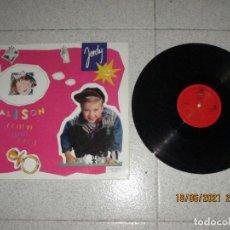Discos de vinilo: JORDY - ALISON - MAXI - SPAIN - CBS - IBL -. Lote 268995979