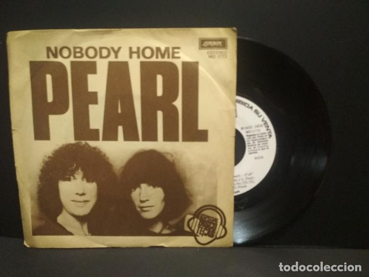 PEARL – NOBODY HOME SELLO: LONDON RECORDS – MO 1773 FORMATO: SNGLE 1978 PROMO SPAIN PEPETO (Música - Discos - Singles Vinilo - Funk, Soul y Black Music)