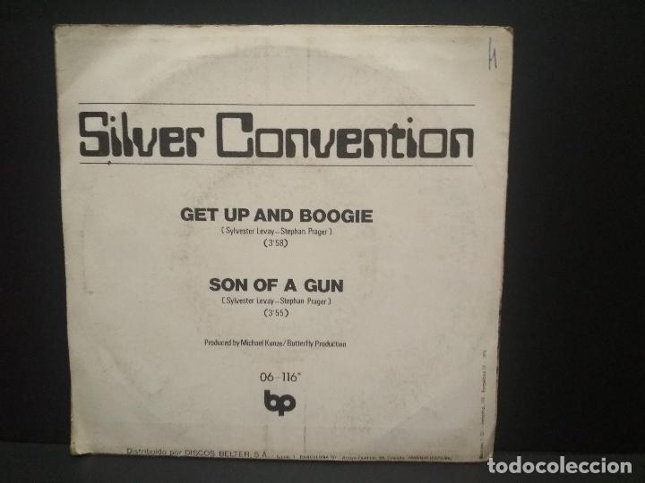 Discos de vinilo: Silver Convention – Get Up And Boogie Single 1976 PEPETO - Foto 2 - 268997549