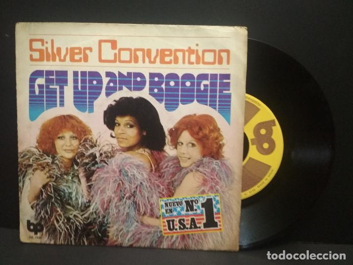 SILVER CONVENTION – GET UP AND BOOGIE SINGLE 1976 PEPETO (Música - Discos - Singles Vinilo - Funk, Soul y Black Music)