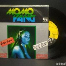 Discos de vinilo: MOMO YANG SINGLE POPLANDIA 1978 MOULIN ROUGE / BRIGITTE BARDOT FUNK SOUL ITALIA DISCO PEPETO. Lote 268998844