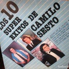 Discos de vinilo: LP DE USA LOS 10 SUPER EXITOS DE CAMILO SESTO ALGO DE MI , AYUDADME , VOLVER VOLVER ,TODO POR NADA. Lote 268999754