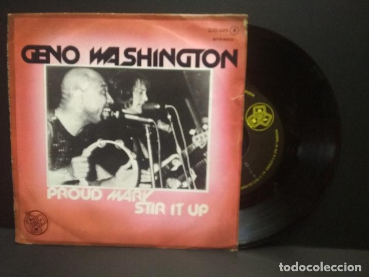 GENO WASHINGTON - PROUD MARY / STIR IT UP - SINGLE 178 DJM RECORDS PEPETO (Música - Discos - Singles Vinilo - Funk, Soul y Black Music)