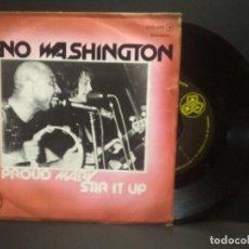 Discos de vinilo: GENO WASHINGTON - PROUD MARY / STIR IT UP - SINGLE 178 DJM RECORDS PEPETO. Lote 268999894