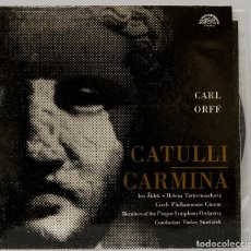 Discos de vinilo: LP. CARL ORFF. CATULLI CARMINA. Lote 269000059