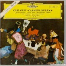 Discos de vinilo: LP. CARMINA BURANA. CARL OFF. Lote 269000184