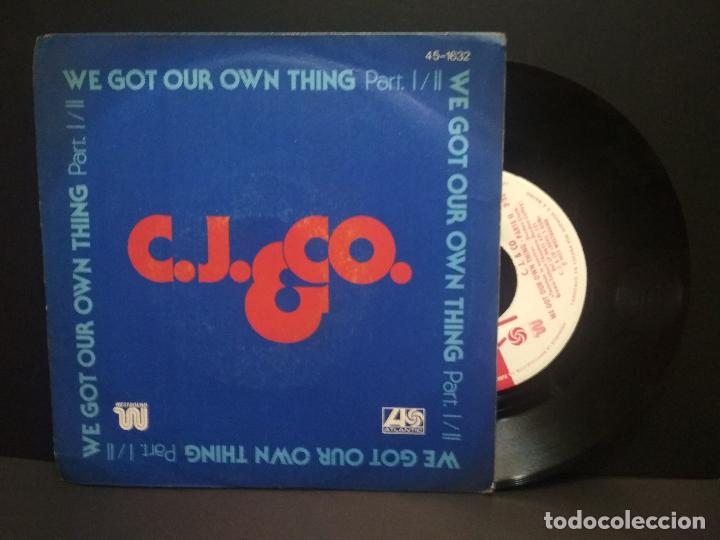 C.J. & CO. / WE GOT OUR THING PARTES 1 Y 2 (SINGLE 1977) PEPETO (Música - Discos - Singles Vinilo - Funk, Soul y Black Music)