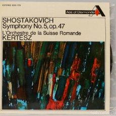 Discos de vinilo: LP. KERTESZ. SHOSTAKOVICH SYMPHONY 5 OP.47. Lote 269001144