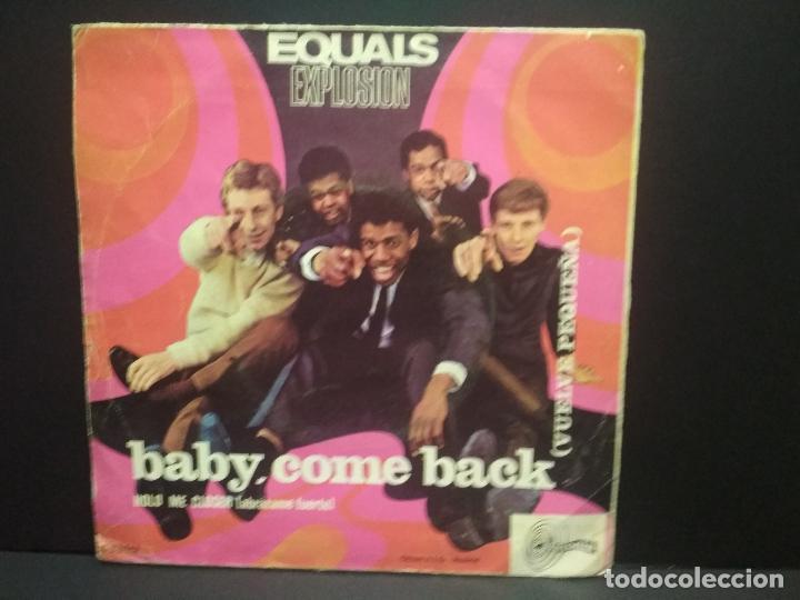 Discos de vinilo: SINGLE 1967 EQUALS EXPLOSION - BABY COME BACK - HOLD ME CLOSER PEPETO - Foto 2 - 269002099
