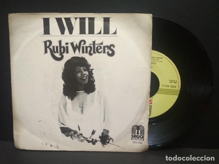 RUBI WINTERS - I WILL (SAUCE) SINGLE ESPAÑA 1978 PEPETO (Música - Discos - Singles Vinilo - Funk, Soul y Black Music)