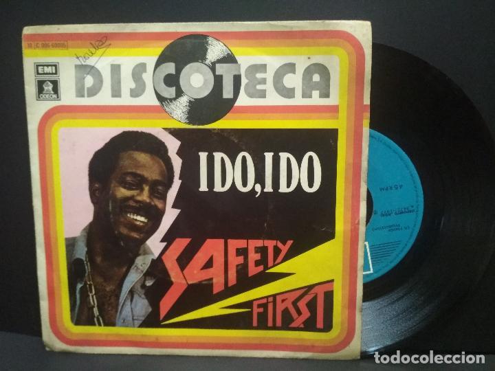 SAFETY FIRST : IDO, IDO SINGLE EMI 1977 PEPETO (Música - Discos - Singles Vinilo - Funk, Soul y Black Music)
