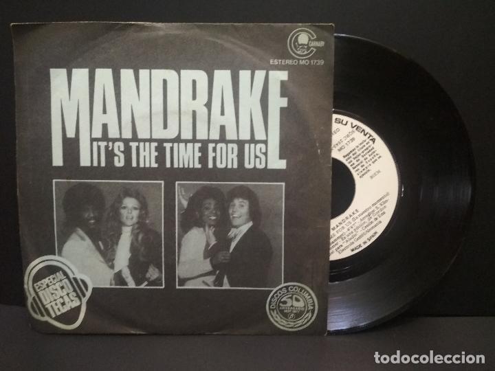 MANDRAKE / IT'S THE TIME FOR US / DISOC MAGIC (SINGLE 1977 PROMO ) PEPETO (Música - Discos - Singles Vinilo - Funk, Soul y Black Music)
