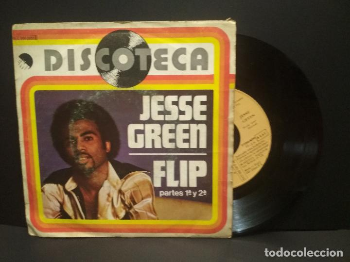 JESSE GREEN (SINGLE 1976) FLIP PARTES 1 Y 2 (DISCOTECA) PEPETO (Música - Discos - Singles Vinilo - Funk, Soul y Black Music)