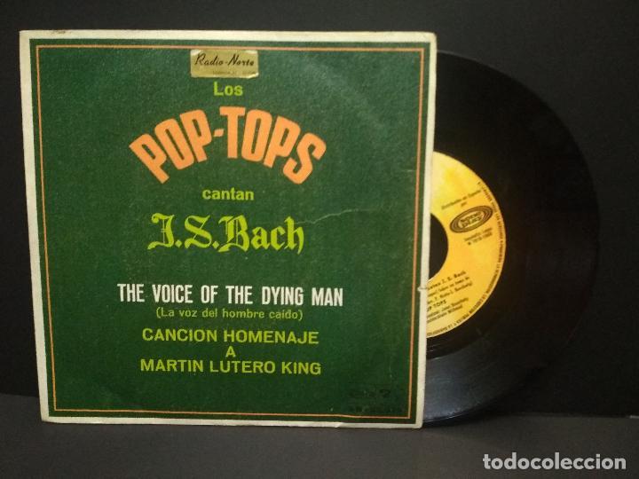 LOS POP-TOPS CANTAN J.S.BACH THE VOICE OF THE DYING MAN / SOMEWHERESINGLE 1968 BARCLAYS PEPETO (Música - Discos - Singles Vinilo - Pop - Rock Internacional de los 50 y 60)