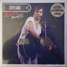 Discos de vinilo: 2 LP STEVE EARLE - LIVE FROM AUSTIN TX - NEW WEST NW5158 - NUEVO / PRECINTADO !!!*. Lote 269004219