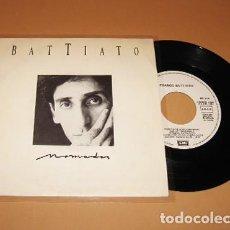 Disques de vinyle: FRANCO BATTIATO - NOMADAS - PROMO SINGLE - 1987. Lote 269005664