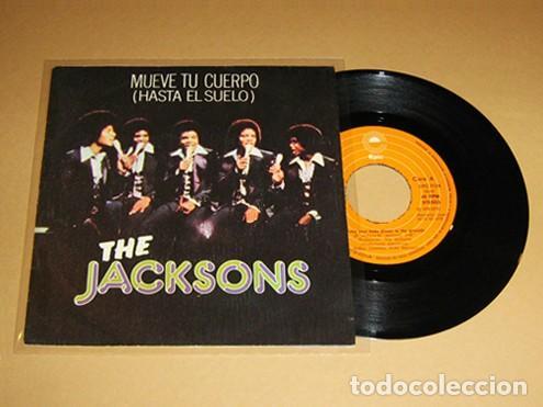 THE JACKSONS - MUEVE TU CUERPO (HASTA EL SUELO) SHAKE YOUR BODY - SINGLE - 1978 (Música - Discos - Singles Vinilo - Funk, Soul y Black Music)