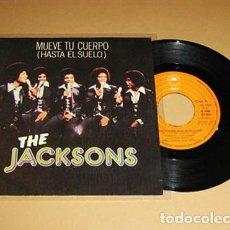 Discos de vinilo: THE JACKSONS - MUEVE TU CUERPO (HASTA EL SUELO) - SINGLE - 1978. Lote 269005939
