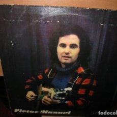Discos de vinilo: LP EDITADO EN ALEMANIA 1977 AMIGA VICTOR MANUEL CANTANTE ASTURIANO. Lote 269032418