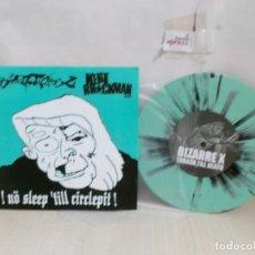 Discos de vinilo: BIZARREX -THRASH TILL DEATH--KENT BROCKMAN--. Lote 269032559