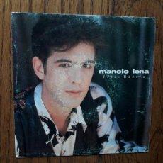 Discos de vinilo: MANOLO TENA - TOCAR MADERA (SÓLO UNA CARA) - PROMOCIONAL. Lote 269033349