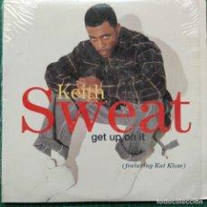 "Discos de vinilo: KEITH SWEAT FEATURING KUT KLOSE - GET UP ON IT (12"", SRC). Lote 269033909"