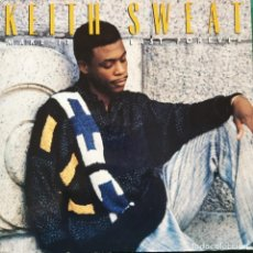 Discos de vinilo: KEITH SWEAT - MAKE IT LAST FOREVER (LP, ALBUM) (1987/UK). Lote 269034129