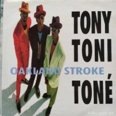 """Discos de vinilo: TONY! TONI! TONÉ! - OAKLAND STROKE (12"""") (1990/UK). Lote 269034334"""