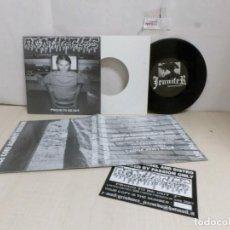 Discos de vinilo: AGATHOCLES--JENNIFER--GRIND RECORDS--MINCE CORE AGAINST FASCISM-BELGIUM-. Lote 269034619