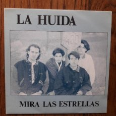 Discos de vinilo: LA HUIDA - MIRA LAS ESTRELLAS + COMO UN LOCO - PROMOCIONAL. Lote 269035024