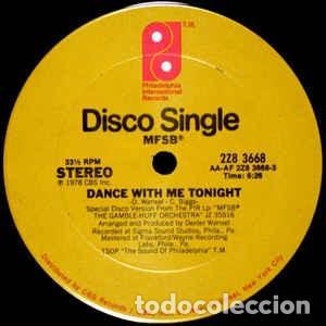 "Discos de vinilo: MFSB - Dance With Me Tonight (12"") (1978/US) - Foto 2 - 269036369"