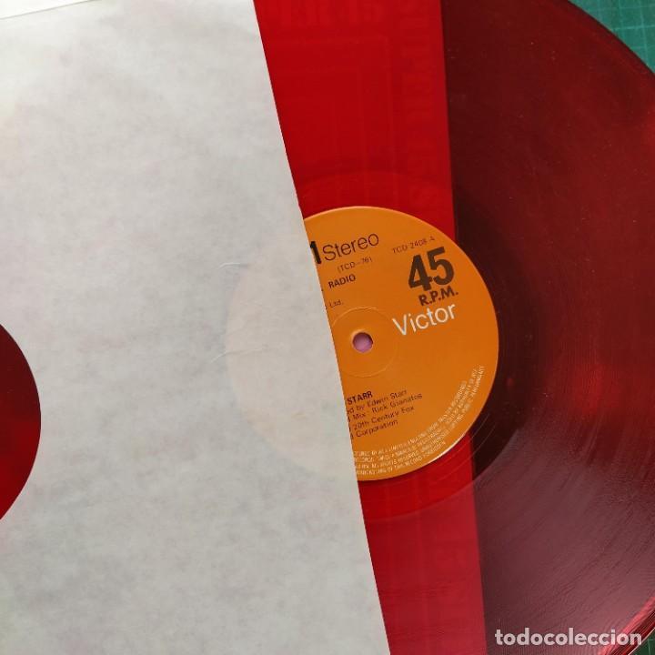 "Discos de vinilo: Edwin Starr - H.A.P.P.Y. Radio (Extended Disco Version) (12"", Rojo) (1979/UK) - Foto 2 - 269036529"