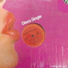 """Discos de vinilo: BIDDU ORCHESTRA - JOURNEY TO THE MOON / JOURNEY IN THE RAIN (12"""", SINGLE) (1977/US). Lote 269037179"""