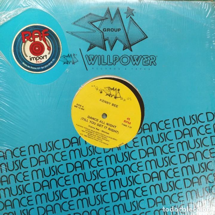 "KENNY BEE - DANCE ALL NIGHT (TILL YOU GET IT RIGHT) (12"") (1980/US) (Música - Discos de Vinilo - Maxi Singles - Funk, Soul y Black Music)"
