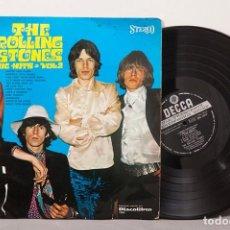 Vinyl-Schallplatten: THE ROLLING STONES - BIG HITS VOL. 2 / SPAIN 1969 ORIG. SKL5019 / DISCOLIBRO 7509 / 6 STARS POKORA. Lote 269039988