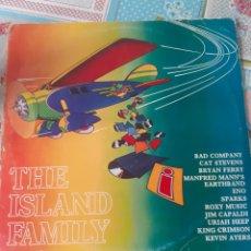 Discos de vinilo: THE ISLAND FAMILY. Lote 269040118