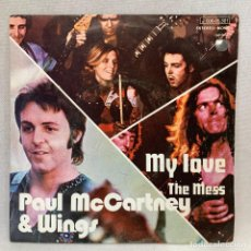 Discos de vinilo: SINGLE PAUL MCCARTNEY & WINGS - MY LOVE - ESPAÑA - AÑO 1973. Lote 269042663