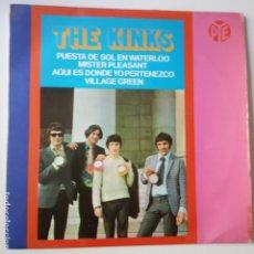 Dischi in vinile: THE KINKS- PUESTA DE SOL EN WATERLOO- SPAIN EP 1967.. Lote 269042723