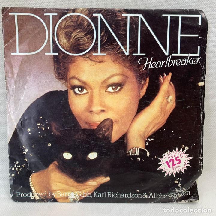 SINGLE DIONNE - HEARTBREAKER - ESPAÑA - AÑO 1982 (Música - Discos - Singles Vinilo - Funk, Soul y Black Music)