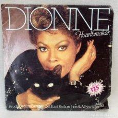 Discos de vinilo: SINGLE DIONNE - HEARTBREAKER - ESPAÑA - AÑO 1982. Lote 269043768