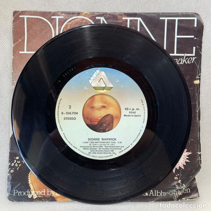 Discos de vinilo: SINGLE DIONNE - HEARTBREAKER - ESPAÑA - AÑO 1982 - Foto 3 - 269043768