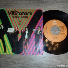 Discos de vinilo: THE VIBRATORS - BABY, BABY / EN EL FUTURO (SPAIN 1977). Lote 269043783