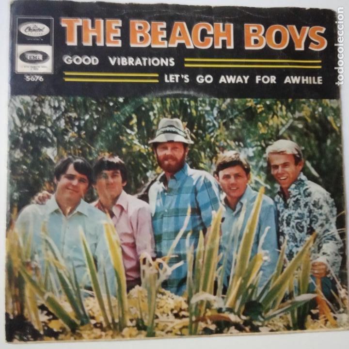 THE BEACH BOYS - GOOD VIBRATIONS- SPAIN SINGLE 1966. (Música - Discos - Singles Vinilo - Pop - Rock Internacional de los 50 y 60)