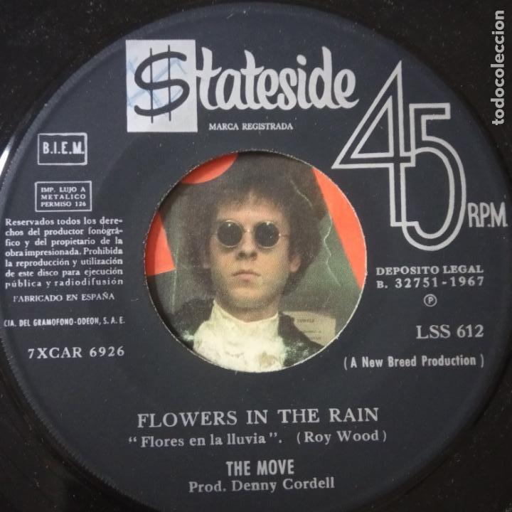 Discos de vinilo: THE MOVE- FLOWERS IN THE RAIN - SPAIN SINGLE 1967. - Foto 2 - 269049488
