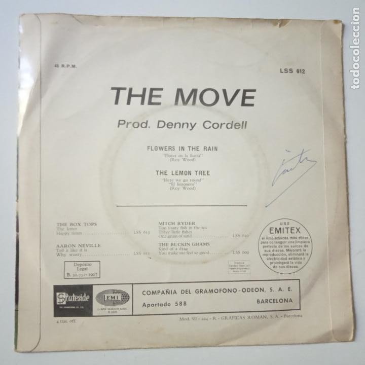 Discos de vinilo: THE MOVE- FLOWERS IN THE RAIN - SPAIN SINGLE 1967. - Foto 3 - 269049488
