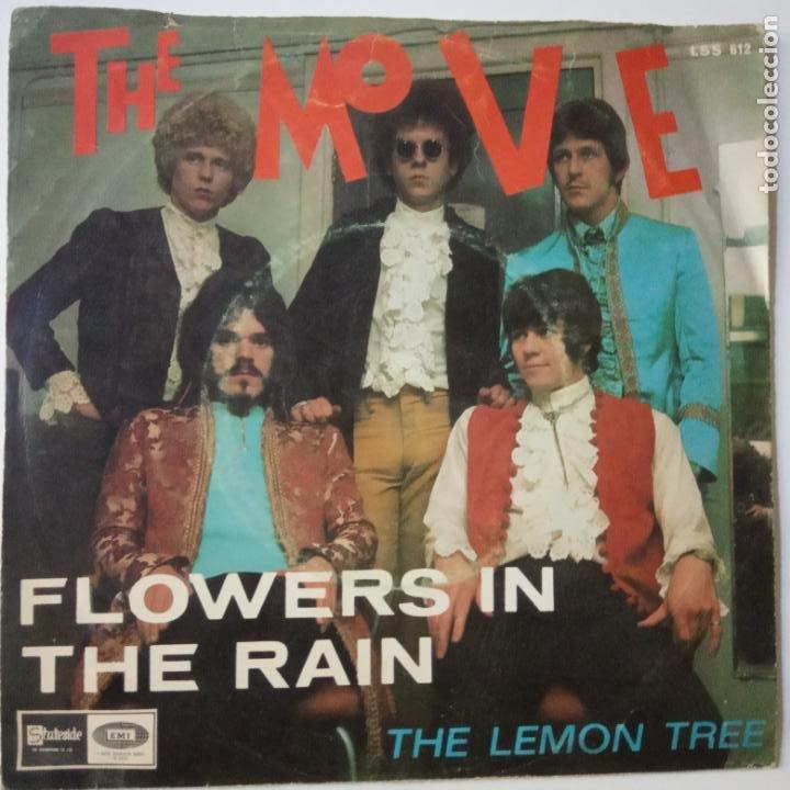 THE MOVE- FLOWERS IN THE RAIN - SPAIN SINGLE 1967. (Música - Discos - Singles Vinilo - Pop - Rock Internacional de los 50 y 60)