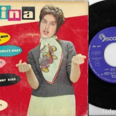 Discos de vinilo: MINA EP CHIP CHAP + 3 DISCOPHON 1960 RARO. Lote 269050843