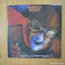Discos de vinilo: BARON ROJO - METALMORFOSIS - LP. Lote 269052863