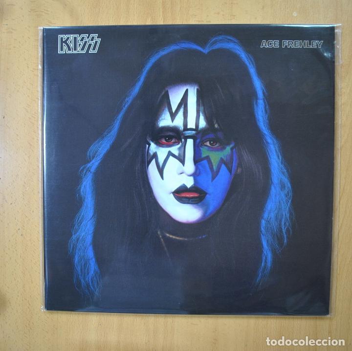 KISS - ACE FREHLEY - CONTIENE POSTER - LP (Música - Discos - LP Vinilo - Heavy - Metal)
